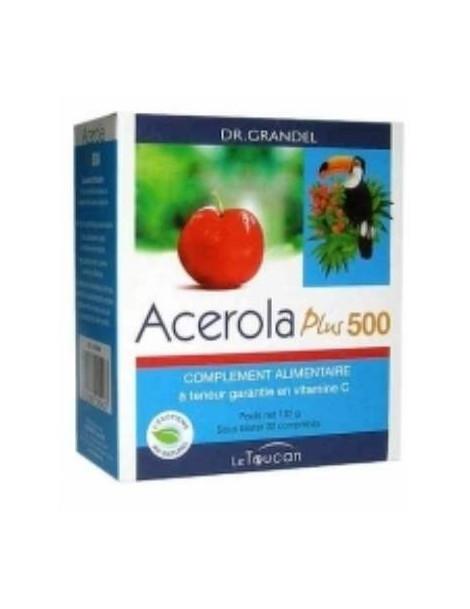 Acerola Plus 500 32 comprimes Biokosma Le Toucan