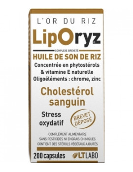 Liporyz 200 capsules LT Labo