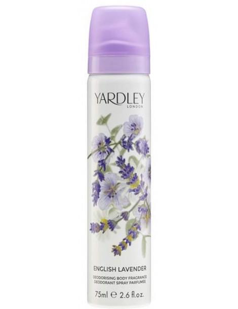 Deodorant parfumé English Lavender 75ml Yardley
