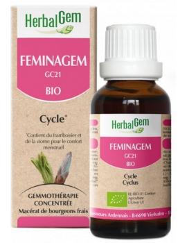 Feminagem 50ml Herbalgem Gemmobase