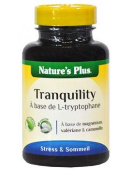 Tranquility Tryptophane 60 comprimes Nature's Plus