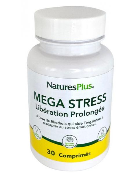 Mega Stress 30 comprimes Nature's Plus