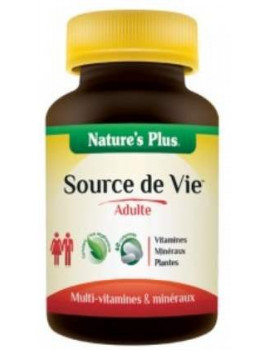 Source de Vie Adulte 60 comprimes Nature's Plus