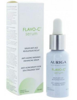 Flavo-C Serum Anti-Age revelateur d'eclat 30ml Auriga