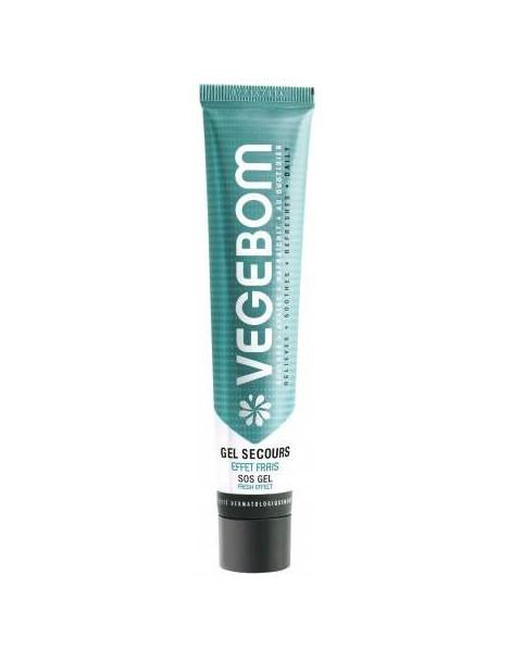 Gel Secours Tube effet frais 45 ml Végébom