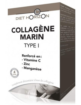 Collagene Marin Type 1 - 15 sticks Diet Horizon