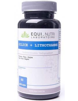 Silice + Lithothamne 60 gelules Equi Nutri