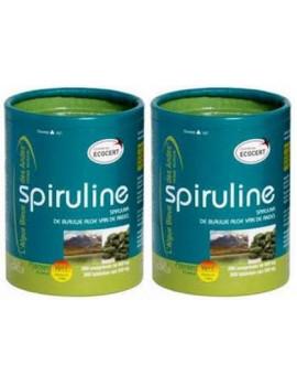 Spiruline Ecocert lot de 2 x 300 comprimes 500mg Flamant Vert