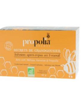 Infusion Bio Après-Repas 20 Sachets Propolia