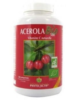 Acerola Bio 500 AB familial 100 comprimés Phyto-Actif