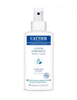 Lotion purifiante  peaux jeunes 200ml Cattier