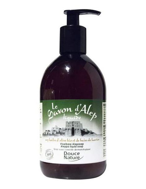 Savon d'Alep liquide bio  500 ml Douce Nature