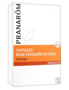 Rose musquée du Chili - 40 capsules Pranarôm