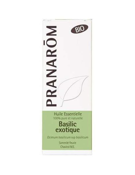 Huile essentielle Basilic exotique Bio 10ml Pranarôm