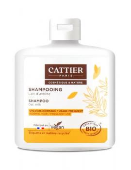 Shampooing au soluté de yoghourt usage fréquent 250ml Cattier