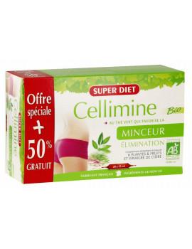 Cellimine bio 20 ampoules et 10 offertes Super Diet cellulite abcbeauté