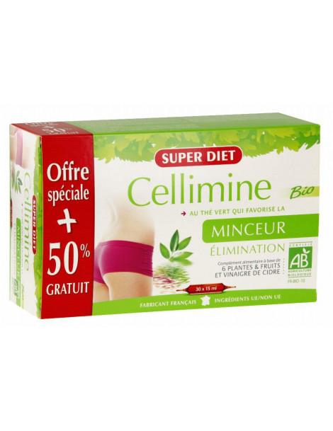 Cellimine bio 20 ampoules et 10 offertes Super Diet