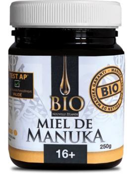 Miel de Manuka TPA 16+ bio Nouvelle Zelande - 250g Dr Theiss