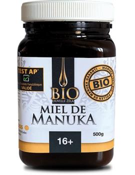 Miel de Manuka TPA 16+ bio Nouvelle-Zelande - 500g Dr Theiss