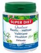 Quatuor Basilic Melisse Valeriane Houblon Bio 150 gélules Super Diet