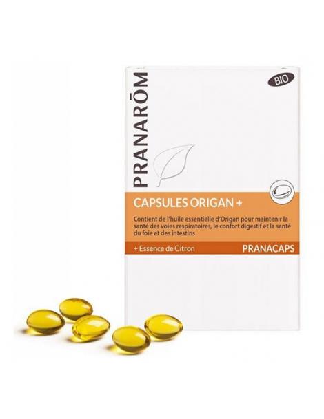 Origan bio +  30 capsules Pranarôm