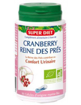 Cranberry Reine des Pres 90 gelules 230mg Super Diet
