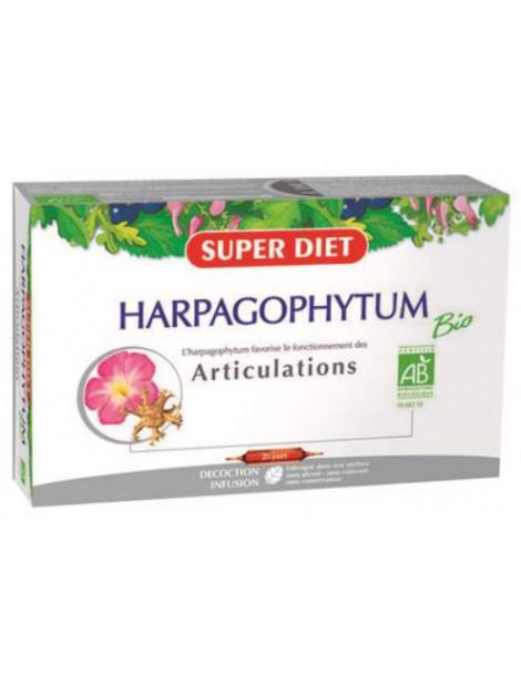 Harpagophytum bio 20 ampoules de 15 ml Super Diet