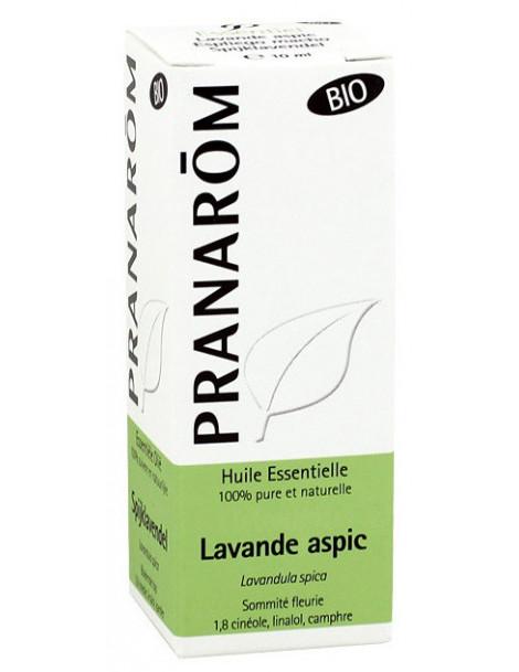 Huile essentielle Lavande Aspic Bio 10ml Pranarôm