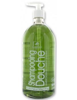 Shampooing douche Fraîcheur Menthe 1L Naturado en Provence