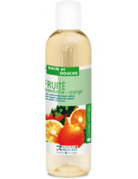 Bain Douche Fruité Mandarine et Orange  250ml Laboratoire Cosmo Naturel