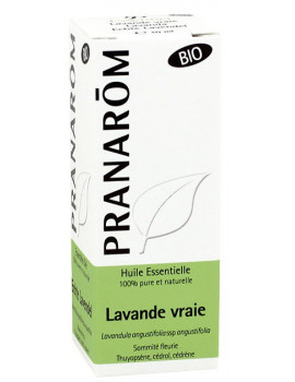 Huile essentielle de Lavande vraie Bio 10ml Pranarôm