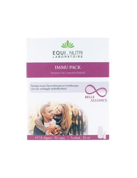 Immu pack 60 gelules - 30ml Equi - Nutri