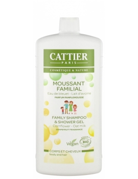 Moussant familial  au lactoserum 500ml Cattier