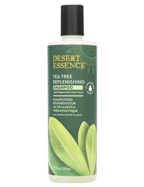 Shampooing régénérant à l'arbre à thé 382ml Desert Essence - produit dhygiène capillaire BIO US