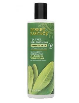 Après shampooing régénérant à l'arbre à thé 382ml Desert Essence - produit dhygiène capillaire BIO US