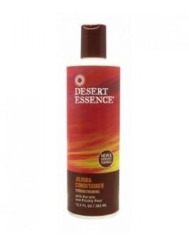 Après shampooing revitalisant au jojoba 382ml Desert Essence - produit d'hygiène capillaire BIO US