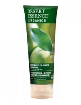 Shampooing à la pomme et au gingembre 237ml Desert Essence - produit d'hygiène capillaire BIO US