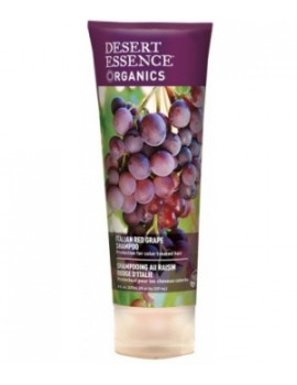 Shampooing au raisin rouge d'Italie 237ml Desert Essence