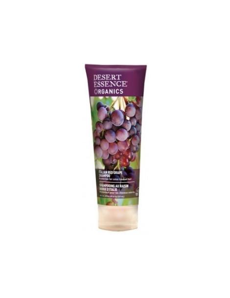 Shampooing au raisin rouge d'Italie 237ml Desert Essence - produit d'hygiène capillaire BIO US