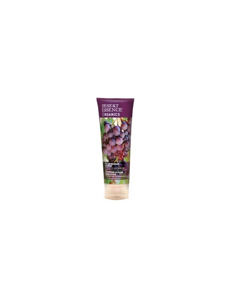 shampooing au raisin rouge d 39 italie 237ml desert essence produit d 39 hygi ne capillaire bio us. Black Bedroom Furniture Sets. Home Design Ideas