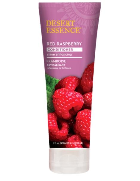 Après shampooing revitalisant à la framboise 237ml Desert Essence - produit d'hygiène capillaire BIO US