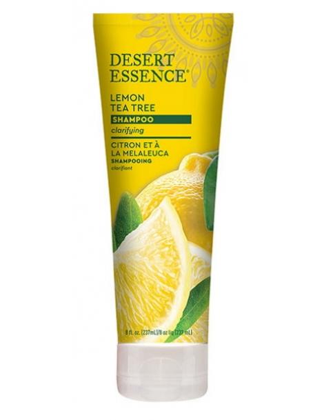 Shampooing au citron 237ml Desert Essence - produit d'hygiène capillaire BIO US