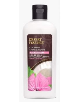 Lotion capillaire lissage et brillance à la noix de coco 190ml Desert Essence - lotion capillaire bio