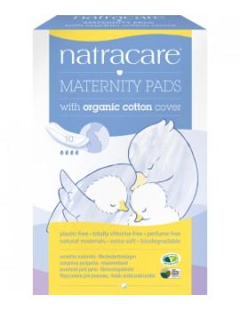 10 serviettes Post maternité Natracare - produit d'hygiène féminine
