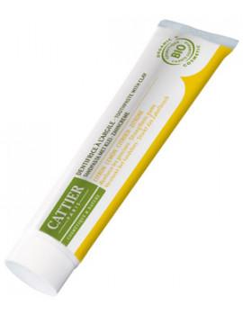 Dentifrice Dentargile reminéralisant au Citron gencives irritées 75 ml Cattier - soin pour les dents