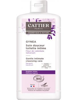 Soin douceur Gynéa Fleur de Calendula Géranium 500ml Cattier - soin  intime bio