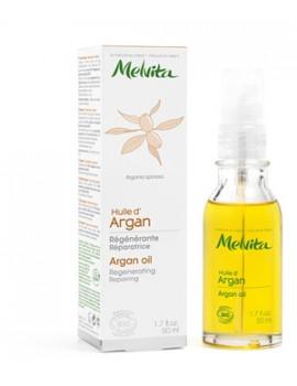 Huile d'Argan équitable Régénérante Réparatrice 50 ml Melvita - produit de soin réparateur