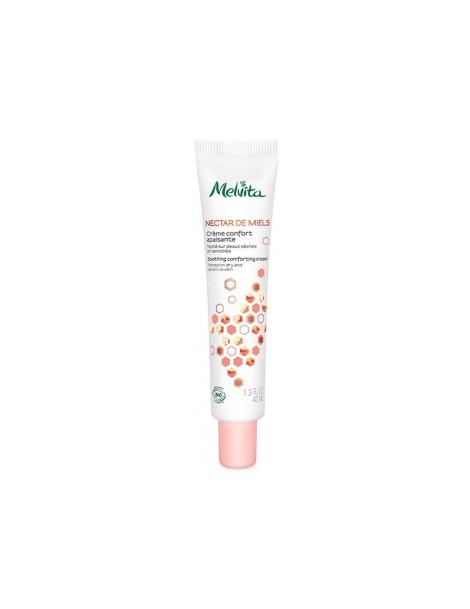 Crème confort apaisante 40 ml Melvita - cosmétique biologique