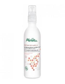 Lait démaquillant confort 200 ml Melvita - cosmétique biologique