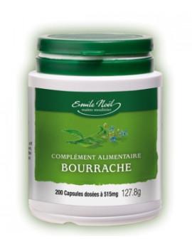Huile de Bourrache Bio  200 capsules dosées à 515 mg Emma Noel